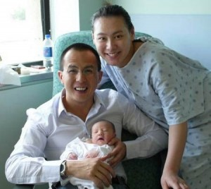 梁洛施去年为李泽楷生下第一个儿子:李长治